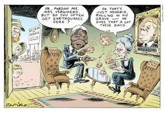 Zapiro cartoons on 16th August