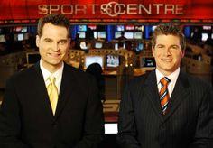 Jay Onrait and Dan O'Toole TSN Sports Center