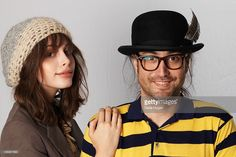 Sean Lennon and Charlotte Kemp Muhl play a Biz Session to promote their new album Acoustic Sessions on October 13, 2010 in London, England.