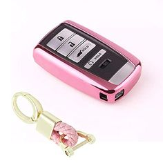 4 5 6 Buttons 3D Bling keyless Entry Remote Smart Key Fob case Cover for 2016-2019 Cadillac CT6 Royalfox 2015-2019 XTS SRX ATS Accessories,with Keychain TM Black 2017-2019 XT5 2014-2019 CTS