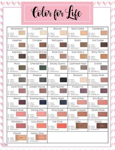 Chromafusion Mary Kay Conversion Chart MK In 2018