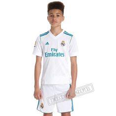 Meilleure Qualité Ensemble Flocage Maillot De Real Madrid Enfant Domicile 2017 2018 Nouveau :Foot769Fr