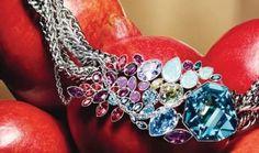 Les bijoux Swarovski Tropical Paradise Tropical Paradise, Diamond, Bracelets, Earrings, Jewelry, Clothing, Swarovski Jewelry, Ear Rings, Outfits