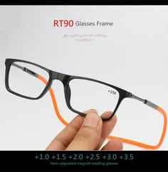 d253938b6c Upgraded Magnet Reading Glasses Men Women Adjustable Hanging Neck Magn –  FuzWeb