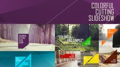Buy Colorful Cutting Slideshow by J_N on VideoHive. Project Features: No plug-ins required After effects and CC compatible Full HD / HD Glitch Effect, Social Media Games, Simple Illustration, After Effects Templates, Color Change, Image Link, Classic, Colorful, Play