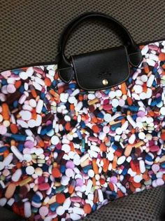 @Liz Constantinou now that is a Longchamp that stands out in a durable/toned down world