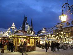 Wernigerode (Sachsen-Anhalt) - X-mas market / Weihnachtsmarkt / Marché de Noël