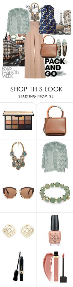 """""""Paris always means little bit of vintage"""" by claire86-c ❤ liked on Polyvore featuring Anja, Dolce&Gabbana, Miu Miu, Marni, BEA, Maggy London, OPI and vintage"""