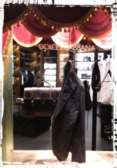 Roma. Piazza di Spagna. Marzo 2013. Dolce & Gabbana Shop.