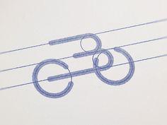 B-Bike Logo Grid designed by Leo. Connect with them on Dribbble; Grid Design, Logo Design, Design Cars, Graphic Design, Identity, Bike Logo, Bike Brands, App Logo, Visual Communication