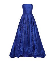 View the Ruched Taffeta Gown
