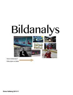 Bildanalys by dianahallberg via slideshare