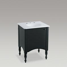 Alberry Vanity Tope de lavamanos Iron/Impressions