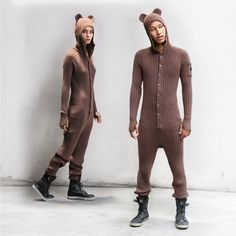 BROWN BEAR SUIT for Adults -... from BlamoToys on Wanelo