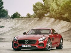 Mercedes-Benz is gunning for Porsche with the new AMG GT, in an interesting manifestation of the role reversal among German automakers. The 2016 AMG GT is only the second sports car to be developed entirely in-house by Mercedes-AMG. Porsche 911, Porsche Panamera, Porsche 918 Spyder, Mercedes Benz Amg, Mercedes Car, Bugatti, Maserati, Ferdinand Porsche, Jaguar