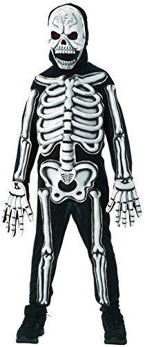 Rubies Glow in The Dark Skeleton Child Costume, Medium, One Color Best Halloween Costumes & Dresses USA Childrens Halloween Costumes, Skeleton Halloween Costume, Theme Halloween, Costumes For Teens, Scary Halloween, Children Costumes, Halloween Ideas, Dark Costumes, Buy Costumes