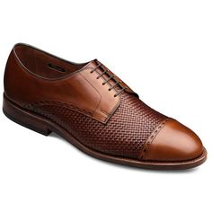 New Orleans - Cap-toe Woven Lace-up Mens Dress Shoes by Allen Edmonds