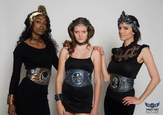 Cincher belts - Available now in our shop, OrganicArmor.com/shop, photo by Tempus Fugit Design, #moonmaiden #mermaid #gothic #cincher