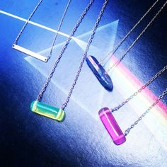 Bar necklaces by blydesign