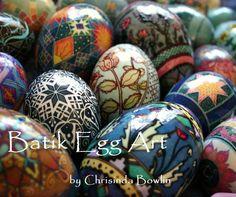 Batik Egg Art