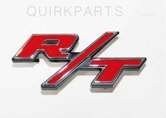 2006 2007 2008 2009 Dodge Charger R/T Grill Emblem Decal MOPAR GENUINE OEM #Mopar