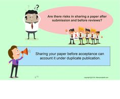 #‎Manuscriptedit‬ @Are there risks in sharing a ‪#‎paper‬ after ‪#‎submission‬ and before ‪#‎reviews‬?  Sharing your #paper before acceptance can account it under duplicate ‪#‎publication‬.  #Manuscriptedit ‪#‎post‬ .. http://www.manuscriptedit.com/publishing