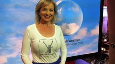 Nice T-Shirt, (apart from it's for Bryan Adams) Carol Kirkwood, Plus Size Fashion For Women, Curvy Women Fashion, Itv Weather Girl, Penny Smith, Female News Anchors, See Through Clothes, Tv Presenters, Sexy Older Women