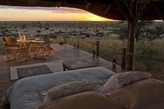 Relais & Chateaux - Tswalu Kalahari, owned by the Oppenheimer family, is South Africa's largest private game reserve, a spectacular wilderness in the heart of the Southern Kalahari where natural beauty and authentic hospitality reign supreme. Here, in the splendour and beauty of this magnificent malaria free a hundred thousand hectares private reserve. Tswalu SOUTH AFRICA #relaischateaux #safari