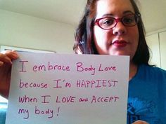 """Be A Part Of The """"I Embrace Body Love"""" Campaign And My Upcoming TEDx Talk! 
