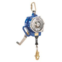 DBI SALA 3400924 Sealed Blok Self Retracting Lifeline 50 Ft Winch. The DBI SALA 3400924 confined space SRL features a 50 foot stainless steel cable and snap hook. Confined Space, Stainless Steel Cable, Michael Kors Watch, Seal, Tripod, Action, Stuff To Buy, Accessories, Group Action