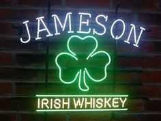 Jameson Irish Neon Sign