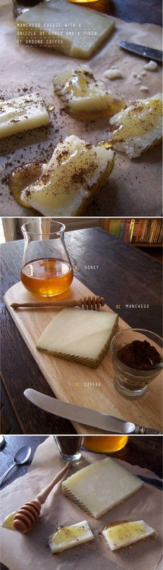 Manchego+honey+coffee