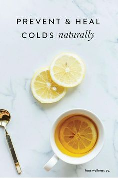 Natural Cold Remedies // Four Wellness Co. - Prevent and heal colds with these natural nutrition and lifestyle remedies. More wellness tips fro - Natural Sleep Remedies, Cold Home Remedies, Natural Health Remedies, Natural Cures, Natural Healing, Natural Skin, Cough Remedies, Herbal Remedies, Holistic Remedies