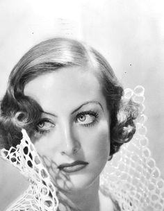 """Joan Crawford.  (The original bitch crazy apparently invented this look, now know colloquially as """"stink eye"""")"""