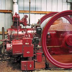 Coolspring Spotlight: 1930s 30 HP Reid - Gas Engines Collections - Gas Engine Magazine