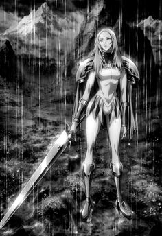 Miria... I have say was my fave character from Claymore