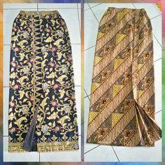 Rok batik Model Dress Batik, Batik Dress, Blouse Dress, Kulot Batik, Model Rok, Kebaya Brokat, Sarong Skirt, Kebaya Muslim, Batik Fashion