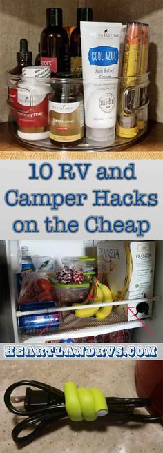 Our purpose of this blog piece is to help new (and seasoned) RVers and Campers by offering ideas to make their lifestyle easier on a dime (or less!) | Heartland RV Blog
