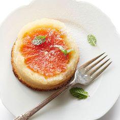 Upside-Down Grapefruit Cakes
