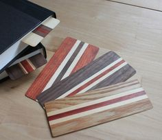 Wooden Bookmarks! Awesome gift idea!