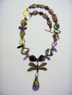 Beaded Necklace by Jane Thornley