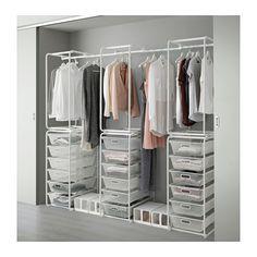 ALGOT Rahmen/Netzdrahtkörbe/Stange  - IKEA