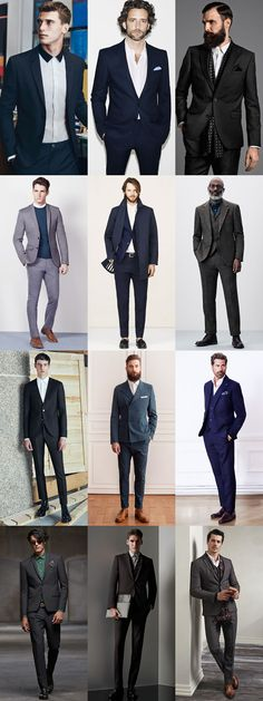 Men's 2015 Fashion Trend: Dressing Down The Suit: Keeping The Collar Modern Lookbook Inspiration