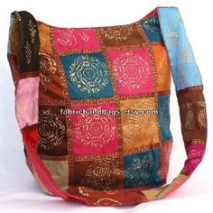 Multi Color Bohemian Boho Hippie Gypsy India Patchwork... review | buy, shop with friends, sale | Kaboodle