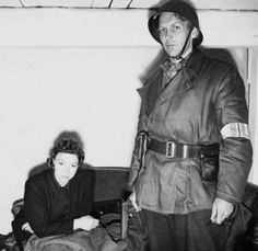 """thedevilsguard: """" Ruth Anderson, the only Norwegian woman to work at the Gestapo HQ in Norway, under arrest and awaiting trial."""