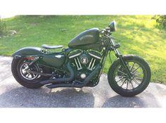 2012 Harley-Davidson Sportster 883 Iron XL883N