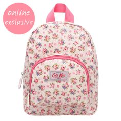Cath Kidston Toddler Back Pack - Travelling with Kids - Childrens Bags | Hampton Rose Kids Mini Backpack | Cath Kids