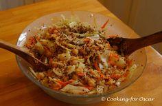 Cooking for Oscar: Quinoa Salad