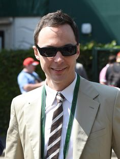 Jim Parsons at Wimbledon