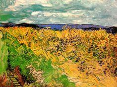 Винсент Ван Гог: Wheat Field with Cornflowers